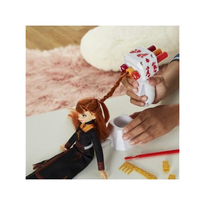 Кукла Холодное Сердце 2 Анна с аксессуарами для волос