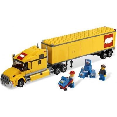 Lepin 02036 Грузовик трейлер (аналог Lego 3221)