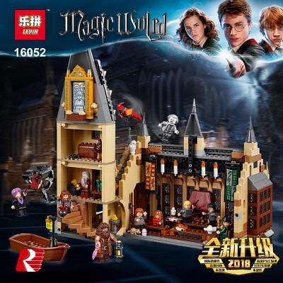 Lepin 16052 Большой зал Хогвартс (аналог Lego 75954)