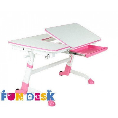 Парта-трансформер для школьника FunDesk Amare Pink