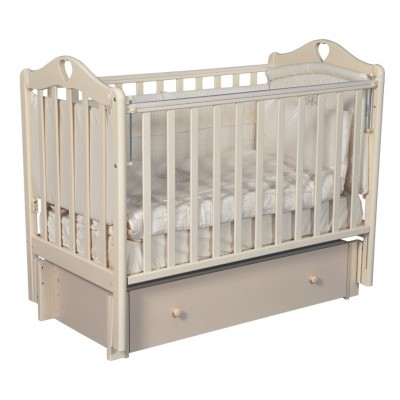 Детская кроватка Кедр Grace 3 с универсальным маятником и ящиком