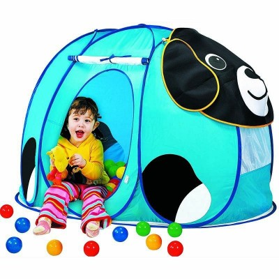 Детская палатка игровая Calida Корова + 100 шариков