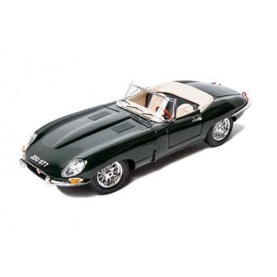 Машина Jaguar E cabrio 1961 Gold Bburago 1 к 18