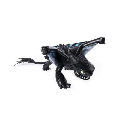 Большой дракон Беззубик 27 см (свет, звук)