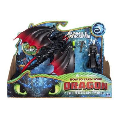 Игровой набор дракон Мертвая хватка и Громмель