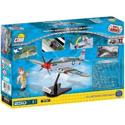 Конструктор Коби самолет Норт Американ П-51 Мустанг (P51 MUSTANG)