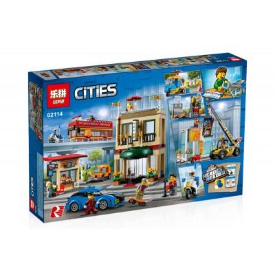 Lepin 02114 Столица (аналог Lego 60200)