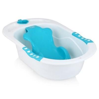 Детская ванна с анатомической горкой HAPPY BABY BATH COMFORT