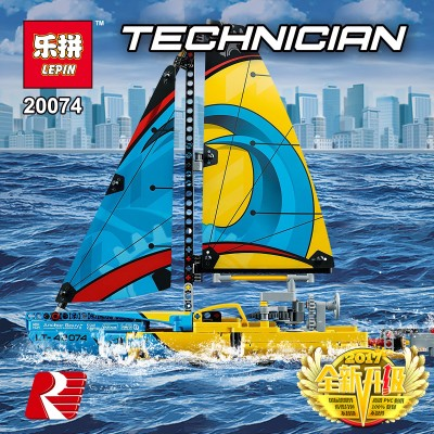 Lepin 20074 Гоночная яхта (аналог Лего 42074)