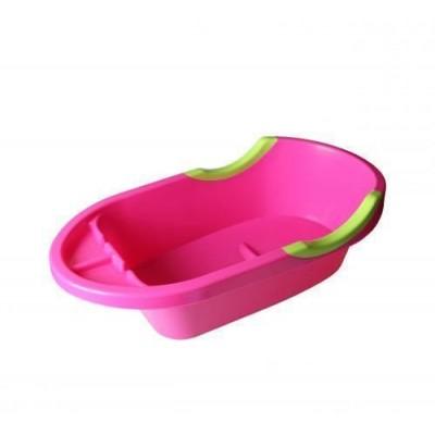 Ванночка детская Малышок Люкс розовая