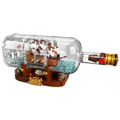 Lepin 16051 Корабль в бутылке (аналог Lego 21313)