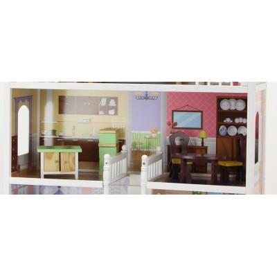 Деревянный кукольный домик Amelia Wooden Toys