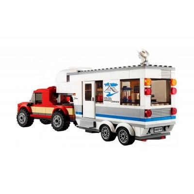 Lepin 02093 Дом на колёсах (аналог Lego 60182)