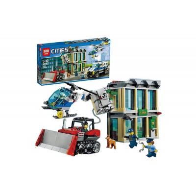 Lepin 02019 Ограбление на бульдозере (аналог Lego 60140)