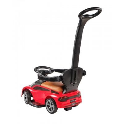 Детская каталка-машинка KidsCare Lamborghini с ручкой