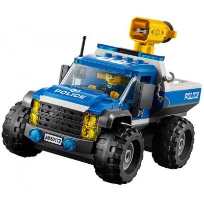 Lepin 02084 Погоня по грунтовой дороге (аналог Lego 60172)