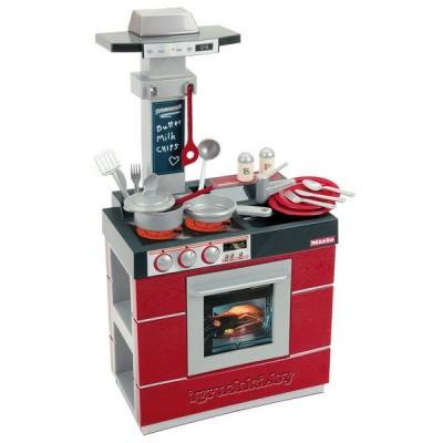 Детская игрушечная кухня Miele с посудой Klein 9044