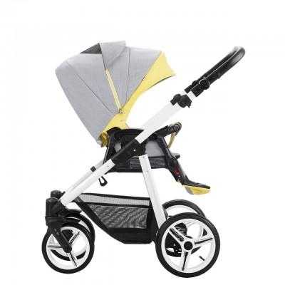 Детская коляска BEBETTO VULCANO 3 в 1 (ЭКО-КОЖА+ТКАНЬ)