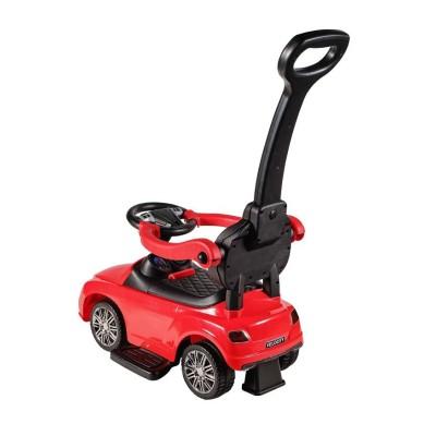 Детская каталка-машинка KidsCare Mercedes с ручкой