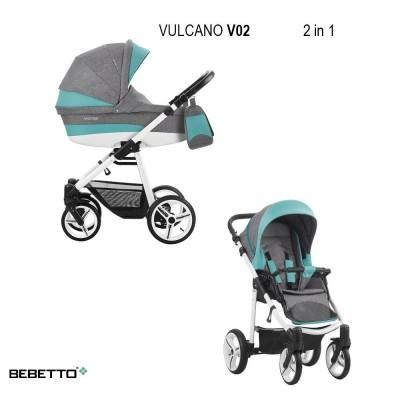 Детская коляска BEBETTO VULCANO 3 в 1