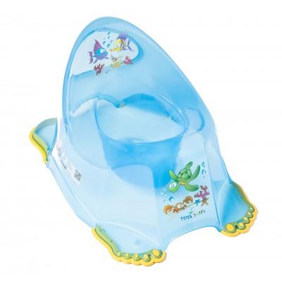 Горшок детский Tega противоскользящий Aqua