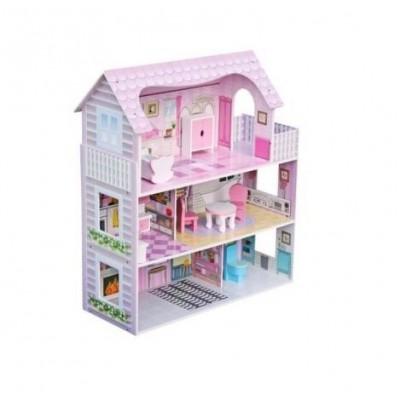 Деревянный кукольный домик Pola Wooden Toys