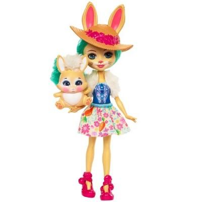 Набор из двух кукол Enchantimals Бри Кролик и Данисса Олененок