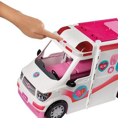 Игровой набор Barbie Машина скорой помощи FRM19
