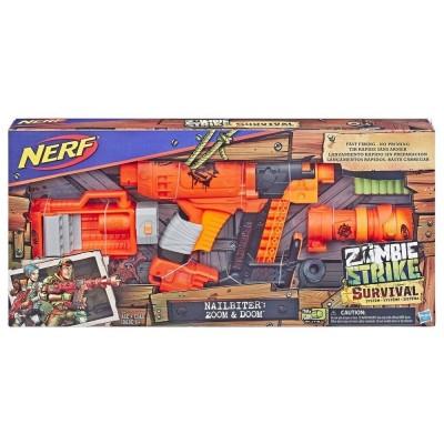 Бластер Nerf Zombie Nailbiter E6163