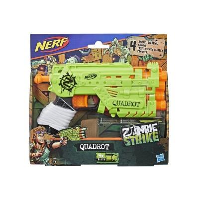Бластер Nerf Zombie Quadrot E2673 Квадрот