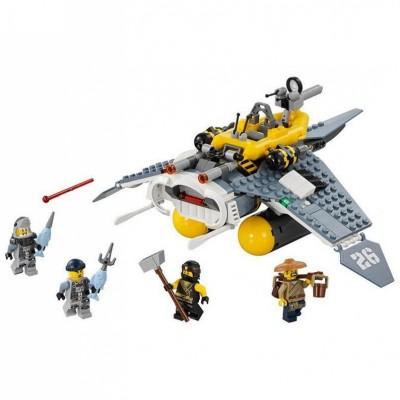 "Lepin 06055 Бомбардировщик ""Морской Дьявол"" (аналог Лего 70609)"