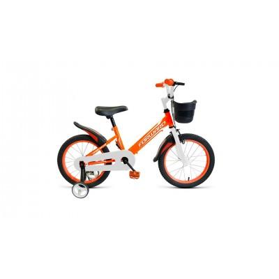 "Велосипед FORWARD 18"" NITRO, 2019-2020, оранжевый/белый, RBKW0LNH1013"